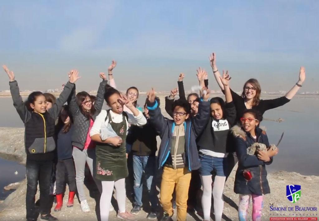 Les élèves de Cm1 ont réalisé une sortie aux Salines de Sfax