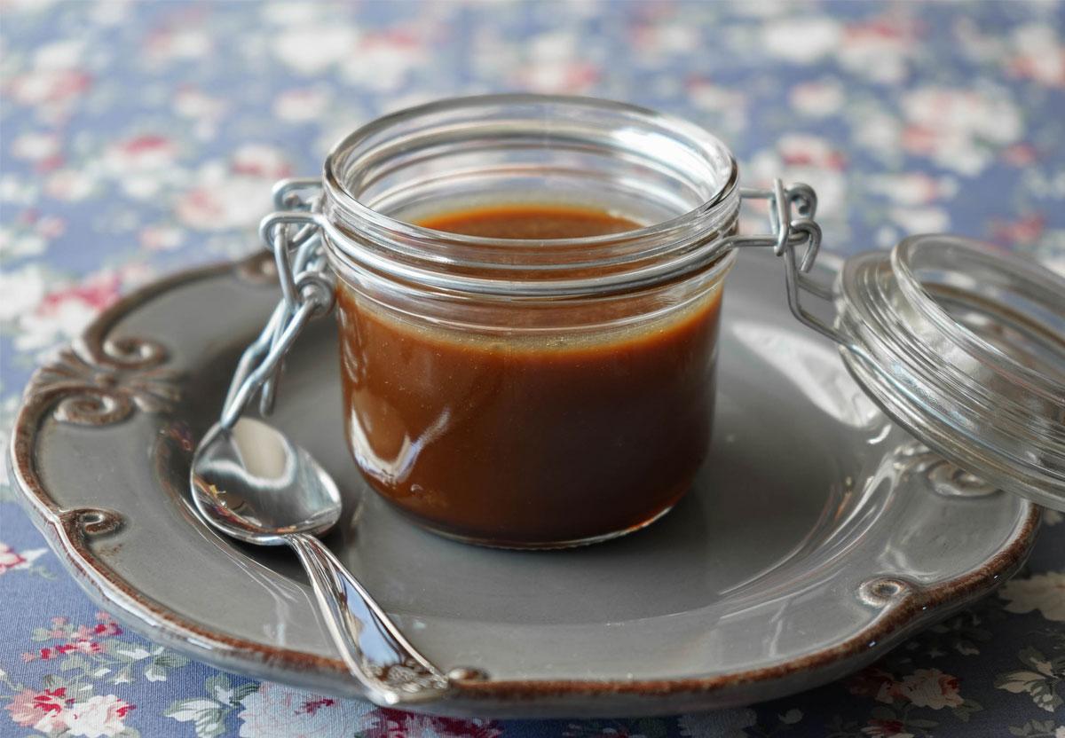 Caramel au beurre salé et à la noix de coco